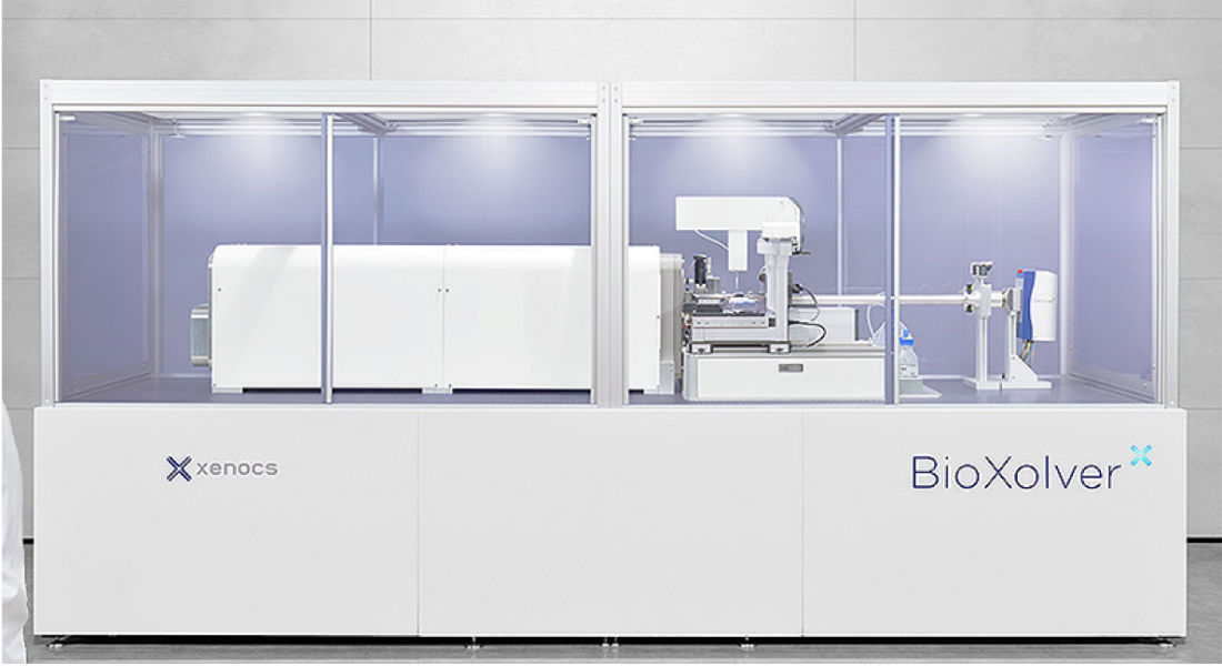 Image of the new Small Angle X-ray Scattering facility