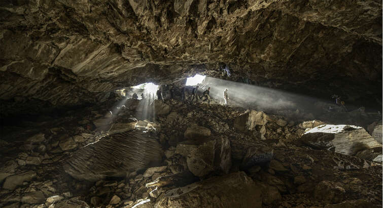 The Chiquihuite Cave.