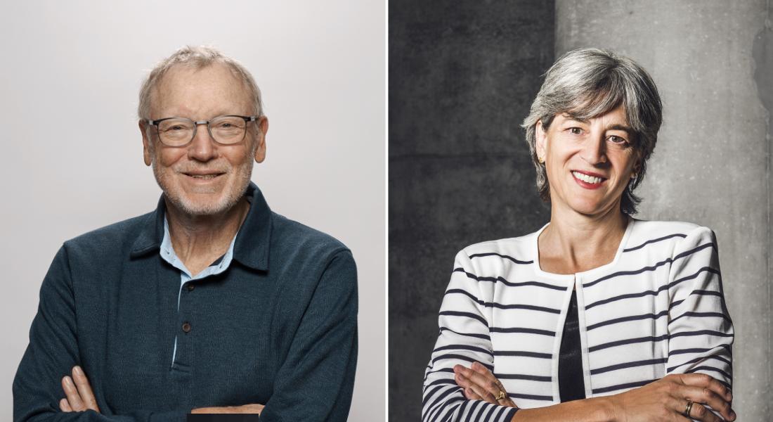 Jens Juul Holst og Juleen Zierath.