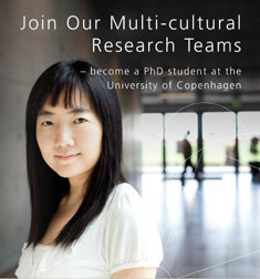 Link to the UCPH brochure called Join our multi-cultural research teams