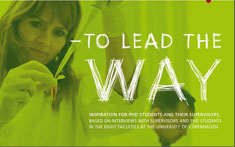 Link to brochure called To lead the way